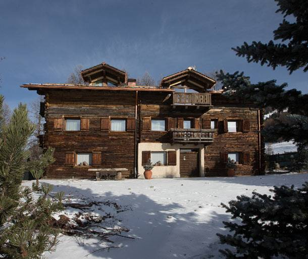 Baita lusso chalet verbier for rent with top stars for Arredamenti livigno